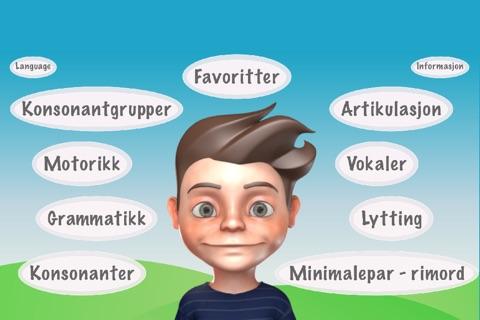 Bo sin språk-app screenshot 1