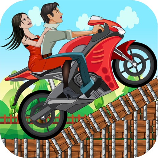 Hill Climb Racer - Free Game For Kids iOS App