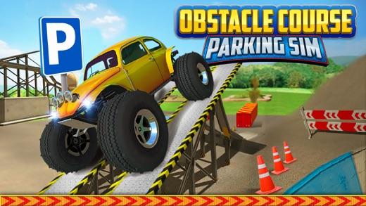 Obstacle Course Extreme Car Parking Simulator АвтомобильГонки ИгрыБесплатно Screenshot