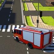Fire Brigade Truck Simulator 2016