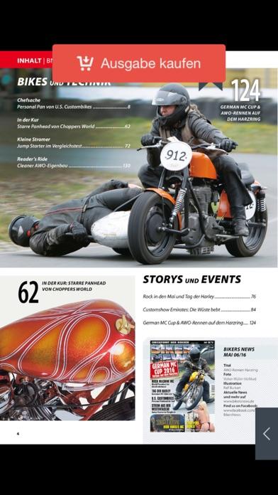 BIKERS NEWS Magazin screenshot1