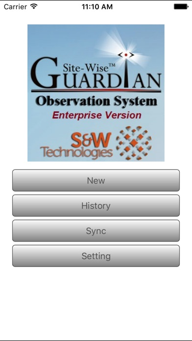 Screenshot of Guardian Enterprise 2.01