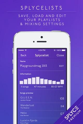 Splyce Premium - music player & dj mixer screenshot 3