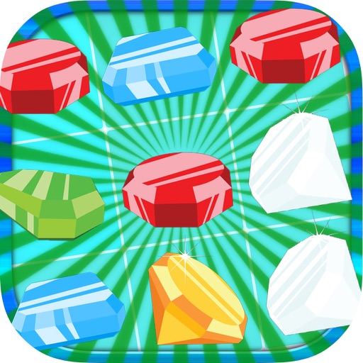 Jewels Match and Crush - Fun free Matching Legend iOS App