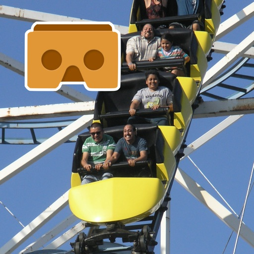 Virtual Reality Roller Coaster for Google Cardboard VR images