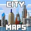 Alex Rastorgouev - City Maps for Minecraft PE - Best Maps for Minecraft Pocket Edition (MCPE)  artwork