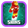Super Heroes in Minecraft PE ( Pocket Edition )- Boy & Girl SuperHero Skins for MCPE!