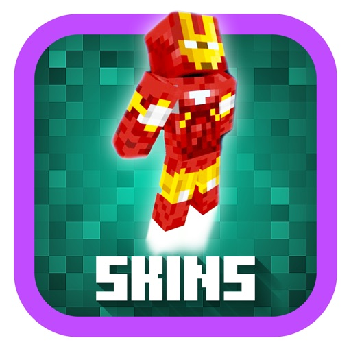 Super Heroes In Minecraft PE Pocket Edition Boy Girl - Skin para minecraft pe pocket edition