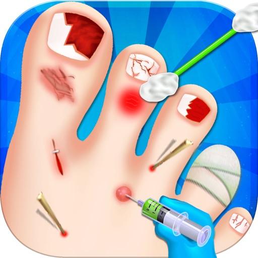 Nail Surgery - foot surgeon simulator iOS App