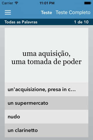 Italian   Portuguese - AccelaStudy® screenshot 3
