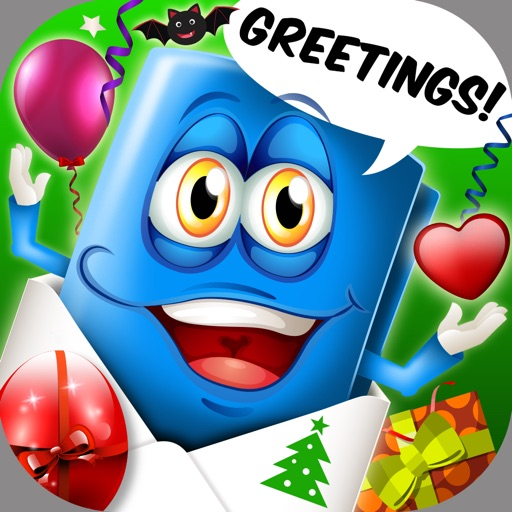 Greeting Cards For All Occasions – e-Card Maker For Happy Birthday, Christmas & Valentine's Day iOS App