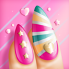 Nail Polish Games For Girls: Do Your Own Nail Art Designs in a Fancy Manicure Salon