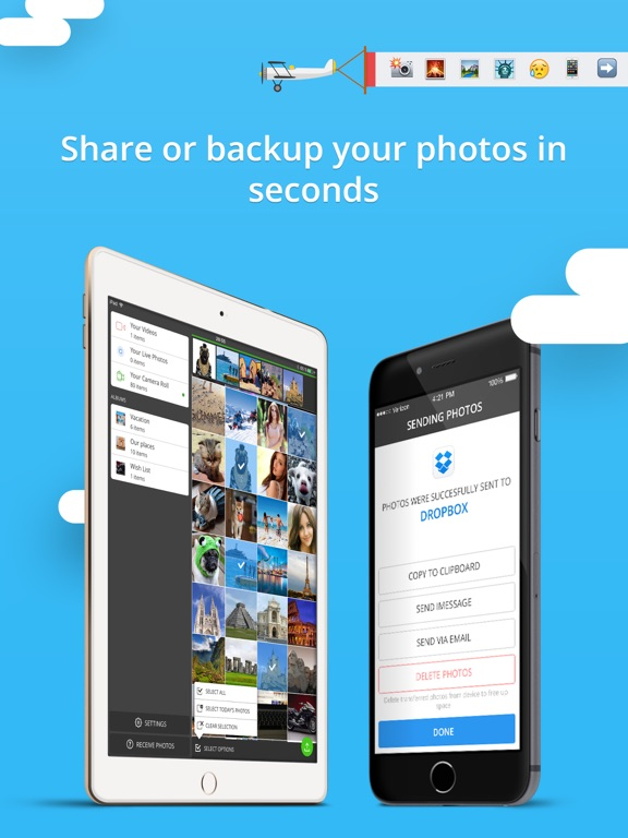 Screenshot #4 for Photo Transfer 3.0 wifi - share and backup your photos and videos