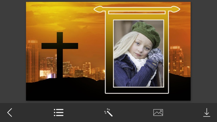 christian photo frame picture frames photo effects screenshot 3