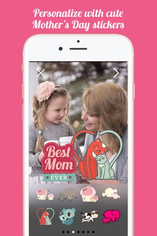 Mothers Day FREE Instant Photo Sticker App screenshot 4
