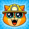 Dig it! - cat mine. Drill, mine and level up your own cute catminers.