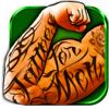 Tatuagem Desenhos Editor De Fotos - Ideias Do Tatuagem No Estúdio Virtual Com Câmera Adesivos