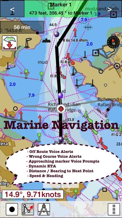 iBoatingHollandNetherlands GPS NauticalMarine Charts Maps on