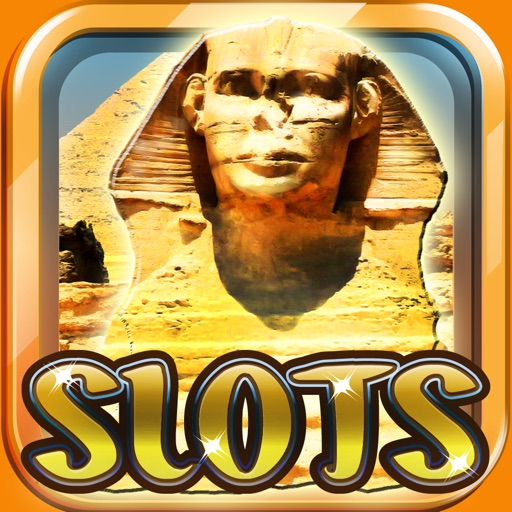 "Ancient Egypt Slot Machine Casino - ""The Way of Fire to Book of Ra"" iOS App"