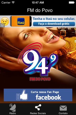 Rádio FM do Povo screenshot 2