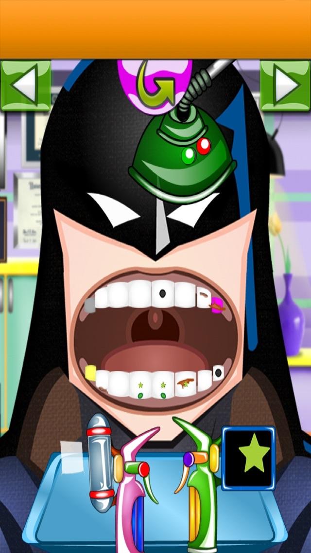 A Superhero Dentist - 自由のための歯科医師、医師ゲームのおすすめ画像2