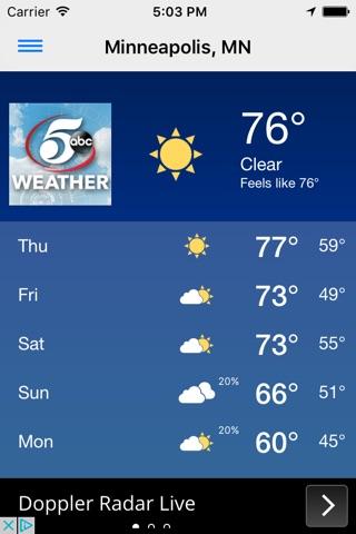 KSTP Weather Mpls-St. Paul screenshot 1