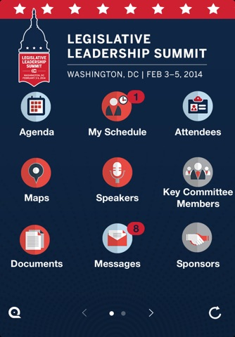 Legislative Summit App 2014 screenshot 2