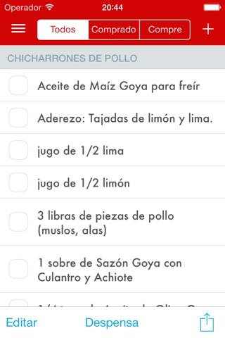 Paprika Recipe Manager for iPhone screenshot 4