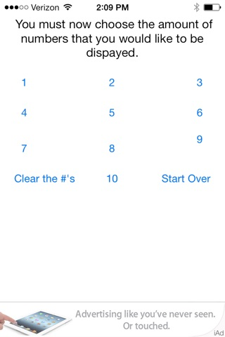 Lucky Numbers screenshot 4