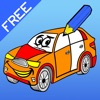 Malbuch der Autos für Kinder: Rennwagen, Auto, Bus, Traktor, LKW, Rennauto und mehr mit diesem Spiel zeichnen, malen und ausmalen lernen. Gratis-Lernspiel für Jungen!