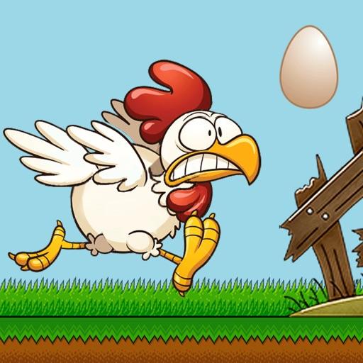 Jumping Chicken iOS App