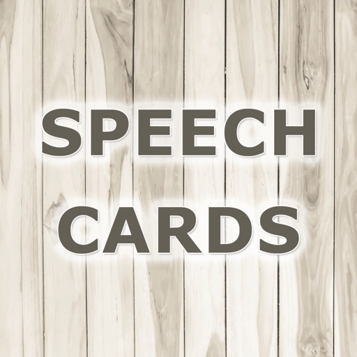 Speech Cards by Teach Speech Apps - for speech therapy