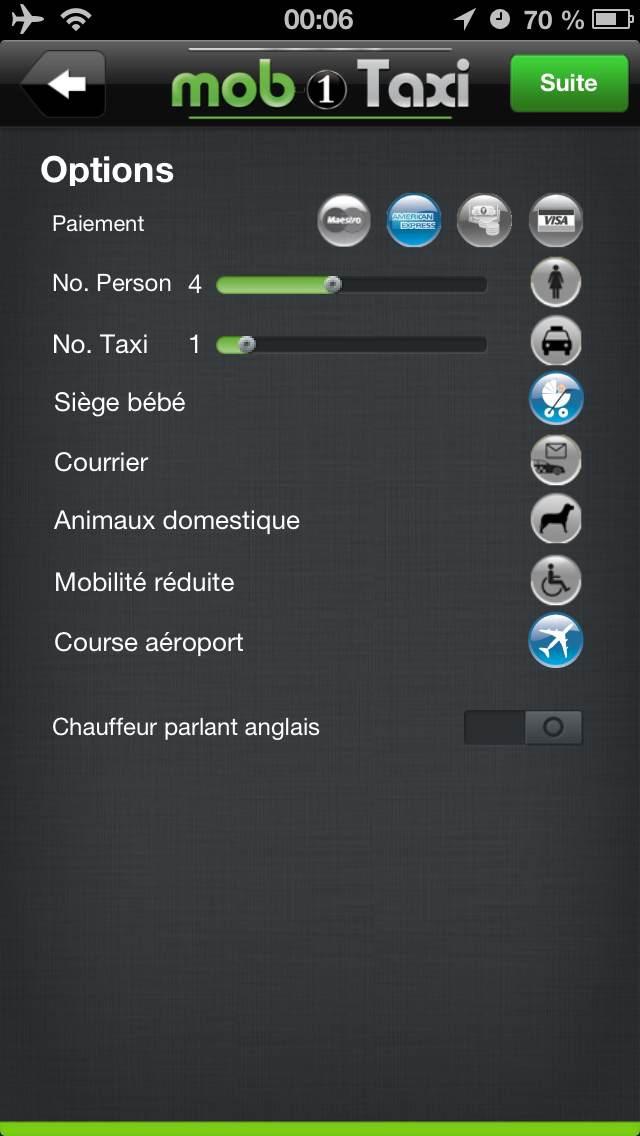Mob1TaxiCapture d'écran de 4
