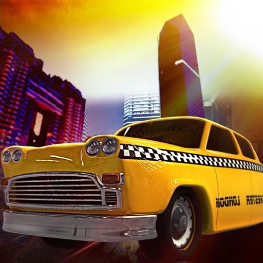 Taxi Cabs Mania : New-York Crazy Speed Night - Free Edition iOS App