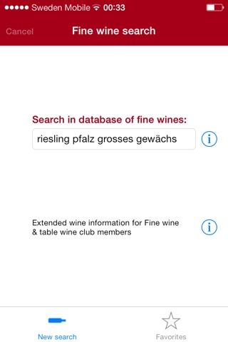Fine wine check pro screenshot 1