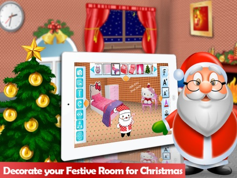 Christmas Room Decoation HD screenshot 1