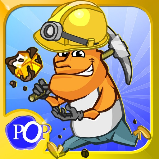 Gold Hunters Deluxe - Gold throwing puzzle game. iOS App