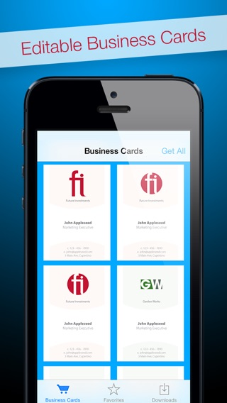 business card app for mac