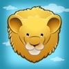 Tier-Lernspiel der Safari für Kindergarten, Vorschule und Schule: Spiele, Übungen, und Lernen für Kinder ab 2 und die Tiere in Wüste, Steppe & Dschungel wie der Löwe, Elefant, Krokodil, Affe, Tiger und Papagei!