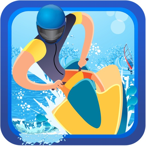 Awesome Wave Jammin Jet Ski Adventure PRO - Tropical Vacation Boat Race Game iOS App