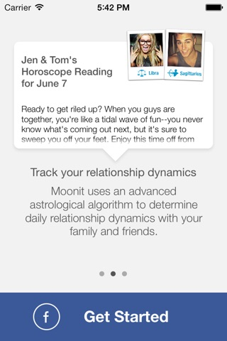 Horoscopes with Friends by Moonit screenshot 3