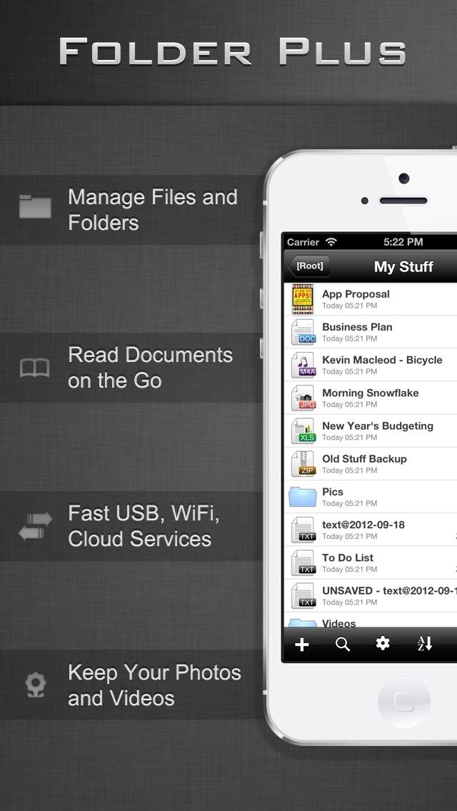 File Manager - Folder Plus LiteScreenshot of 1