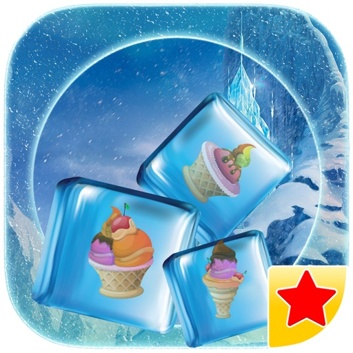 Swap and slide the frozen blocks - Ice cream stacker party PREMIUM by The Other Games iOS App