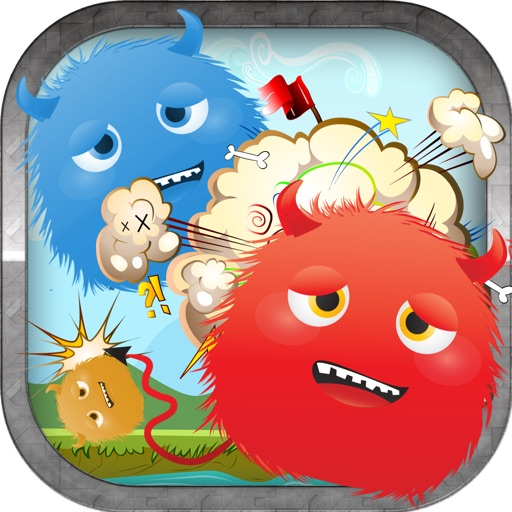 Colored Angry Monster Shooting Blast Full - An Awesome Clear Vision Challenge iOS App