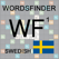 SV Words Finder Wordfeud Svenska/Swedish - find the best words for Wordfeud, crossword and cryptogram