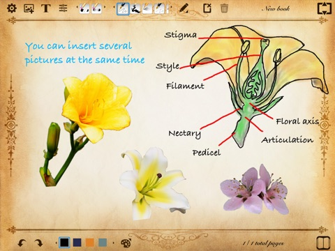 Screenshot #3 for ePaper - Sketch, Write, Paint and Take Notes on a Digital Paper Notebook