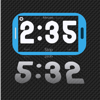 Cronómetro con números grandes