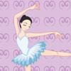 Bailarina! Juego para chicas sobre el ballet: Aprender de guardería, preescolar o guardería escuela con rompecabezas: bailarina, muñeca, zapatos, vestido, princesa, barra, música, lección, clase