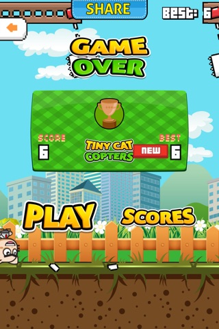 Tiny Cat Copters screenshot 2