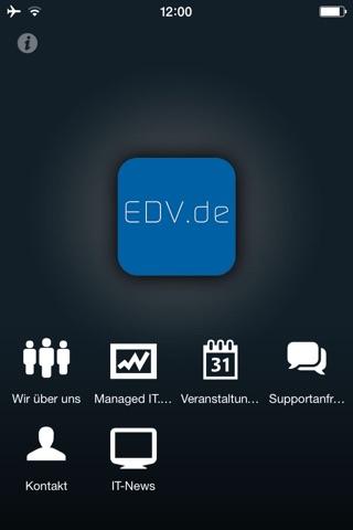 EDV.de screenshot 1